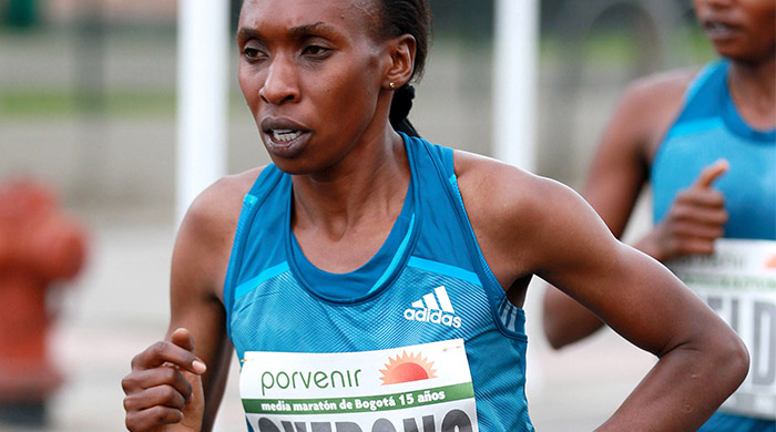World half-marathon champion Gladys Cherono to make full marathon debut in Dubai