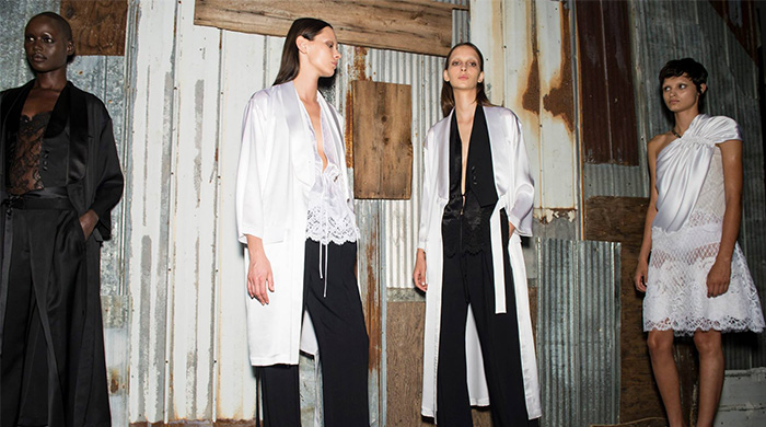 Kendall Jenner, Joan Smalls and more backstage at Givenchy SS16