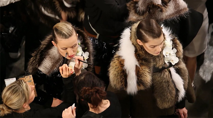 Watch now: Loïc Prigent's backstage film for Fendi