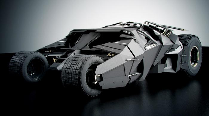 Batmobile replica on sale for $ 1 million