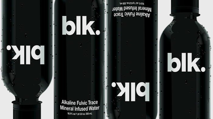 The super-cool BLK water brand arrives in the UAE