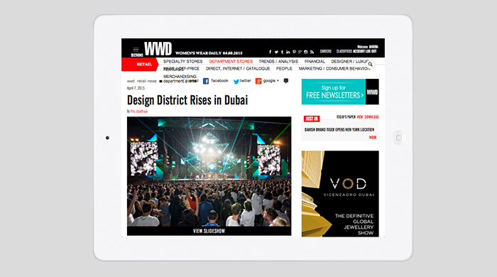 WWD examines the rise of the Dubai Design District (D3)