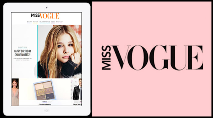 Miss Vogue debuts online