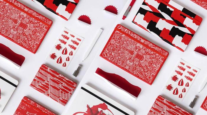 Moleskine celebrates 100 years of Coca-Cola's iconic bottle with designer notebooks