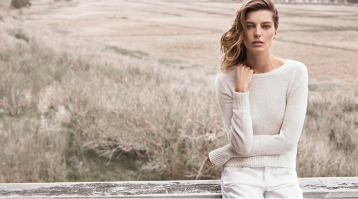 Daria Werbowy for Mango – the full campaign