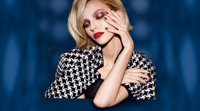 First look: Sasha Luss for Dior Beauty's new campaign