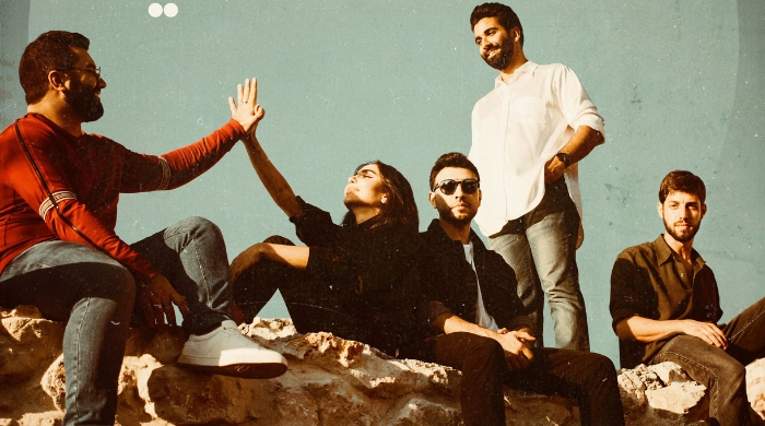 Dana Hourani teams up with Lebanese band Adonis to cover a 2000s classic