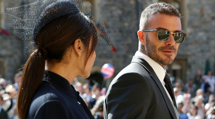 Which celebrity had the most liked Instagram post about the royal wedding?