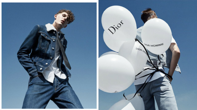 Dior Homme launches Dior Denim collection