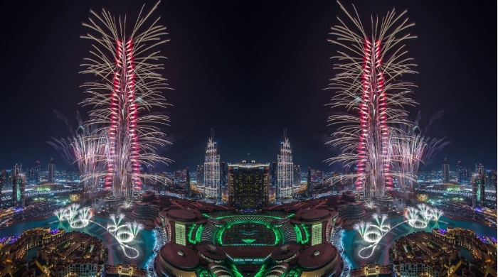 Good news: The fireworks are coming back to the Burj Khalifa this New Year's Eve