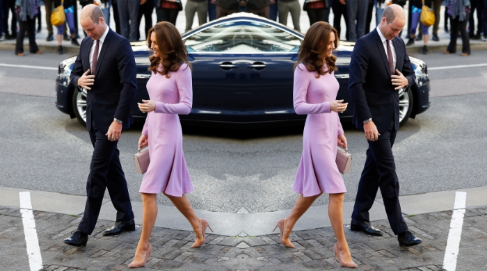 The Duke and Duchess of Cambridge make rewearing outfits look so good