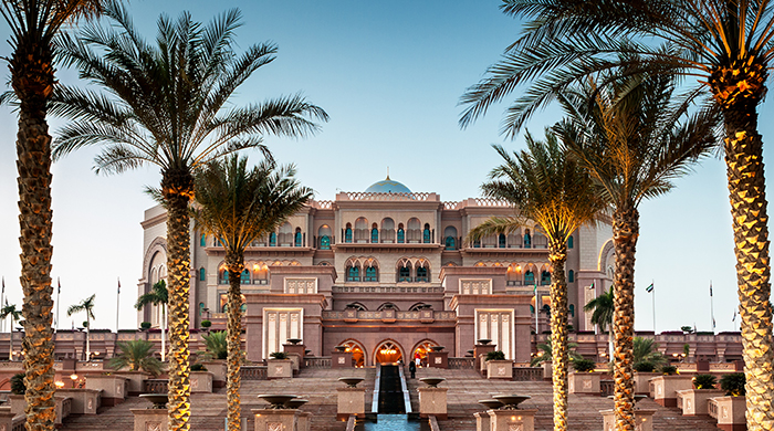Emirates Palace makes list of World's Best Hotels