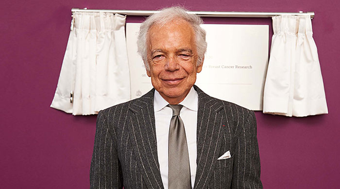 Ralph Lauren and Prince William open cancer research centre