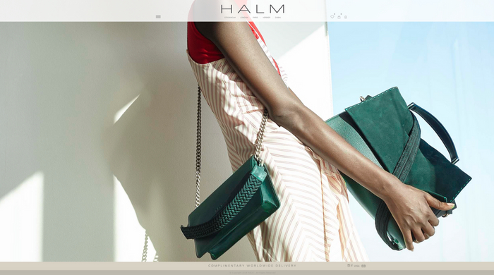 Dubai-based handbag label HALM launches e-commerce platform