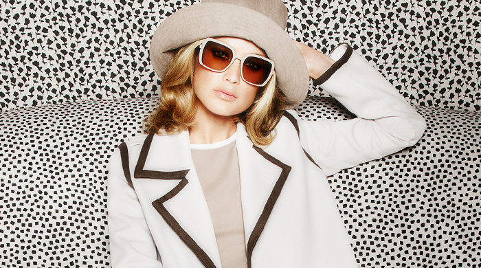 Carolyn Murphy fronts Max Mara's new Spring/Summer 15 campaign