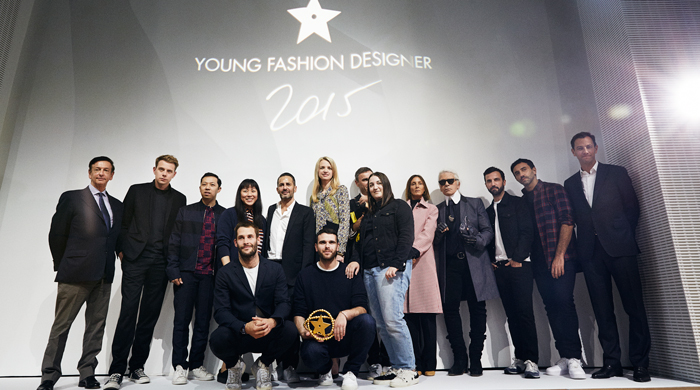 Go behind the scenes at the LVMH Prize presentation