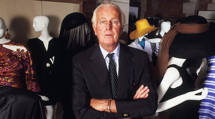 Breaking news: Hubert de Givenchy has died, aged 91