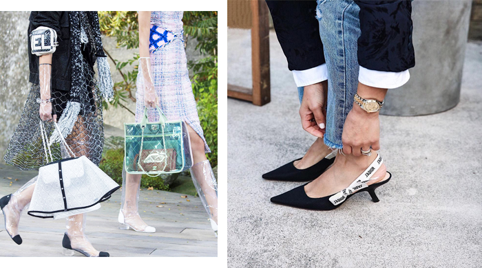 The most popular luxury footwear styles of 2018 so far