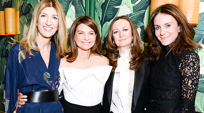 Net-a-Porter host a celebratory dinner during New York Fashion Week