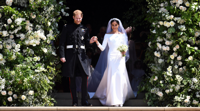 Meghan Markle's Givenchy gown will go on display at the upcoming royal wedding exhibition