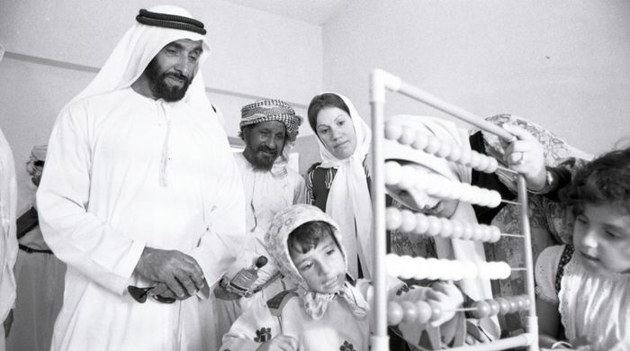 Sheikh Mohamed bin Zayed Al Nahyan names memorial tribute to Sheikh Zayed