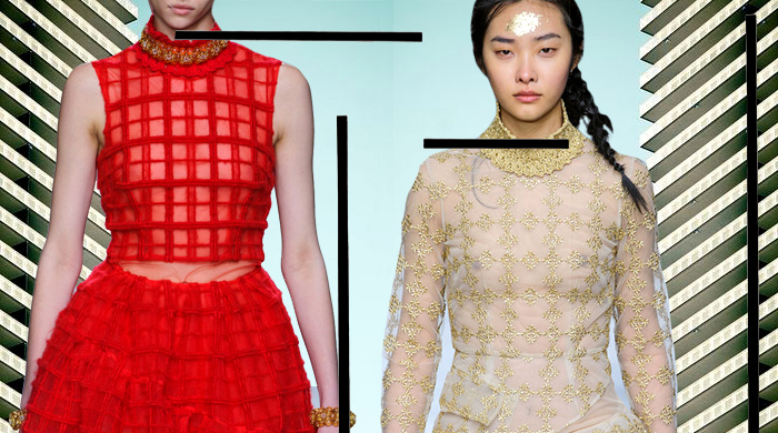 London Fashion Week: Simone Rocha Autumn/Winter 14