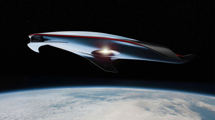 Ferrari unveil designs for futuristic spaceship concept