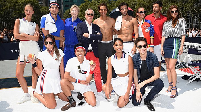 Rafael Nadal and Tommy Hilfiger serve up a tennis themed launch party