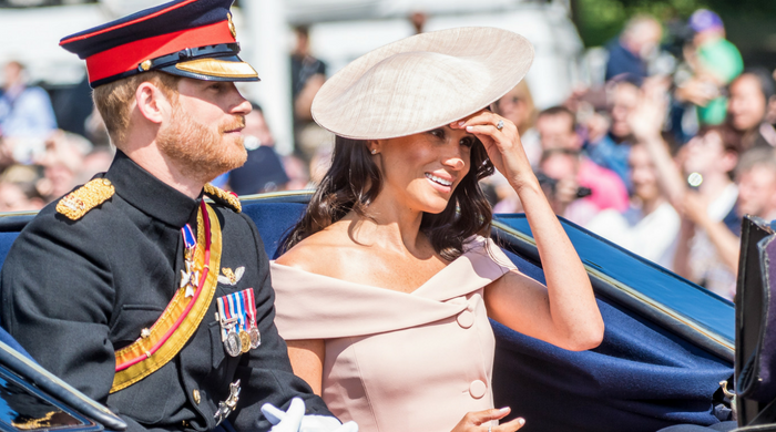 Meghan Markle makes her debut at Trooping The Colour 2018
