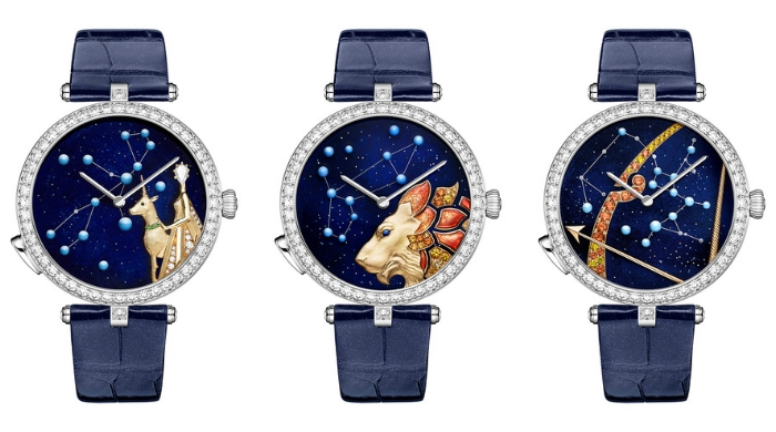 Van Cleef & Arpels launches Lady Arpels Zodiac Lumineux time pieces in the Middle East