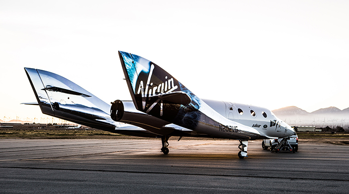 Abu Dhabi venture: Virgin Galactic unveils new spaceship for travel