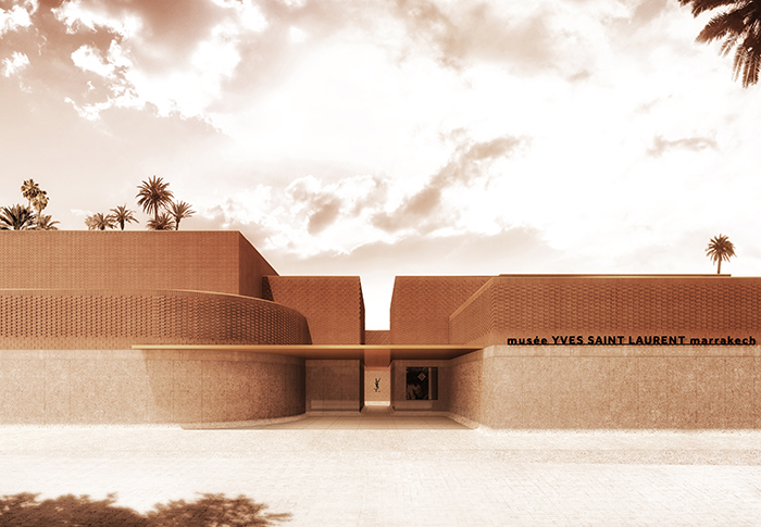 Exclusive first look at the Musée Yves Saint Laurent Marrakech
