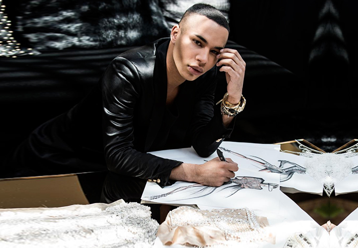 Balmain's Olivier Rousteing to create ballet costumes for Paris Opera