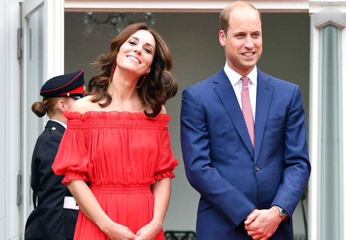 On tour: Kate Middleton and Prince William's first official visit to Germany