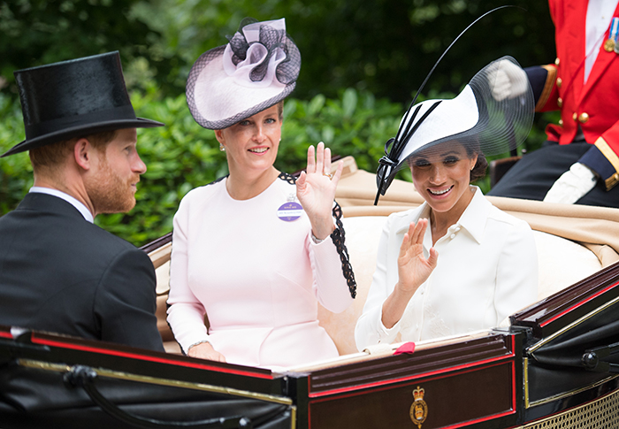Meghan Markle makes her debut at Royal Ascot with Prince Harry