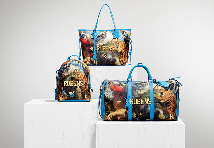First look: Louis Vuitton x Jeff Koons Masters collection